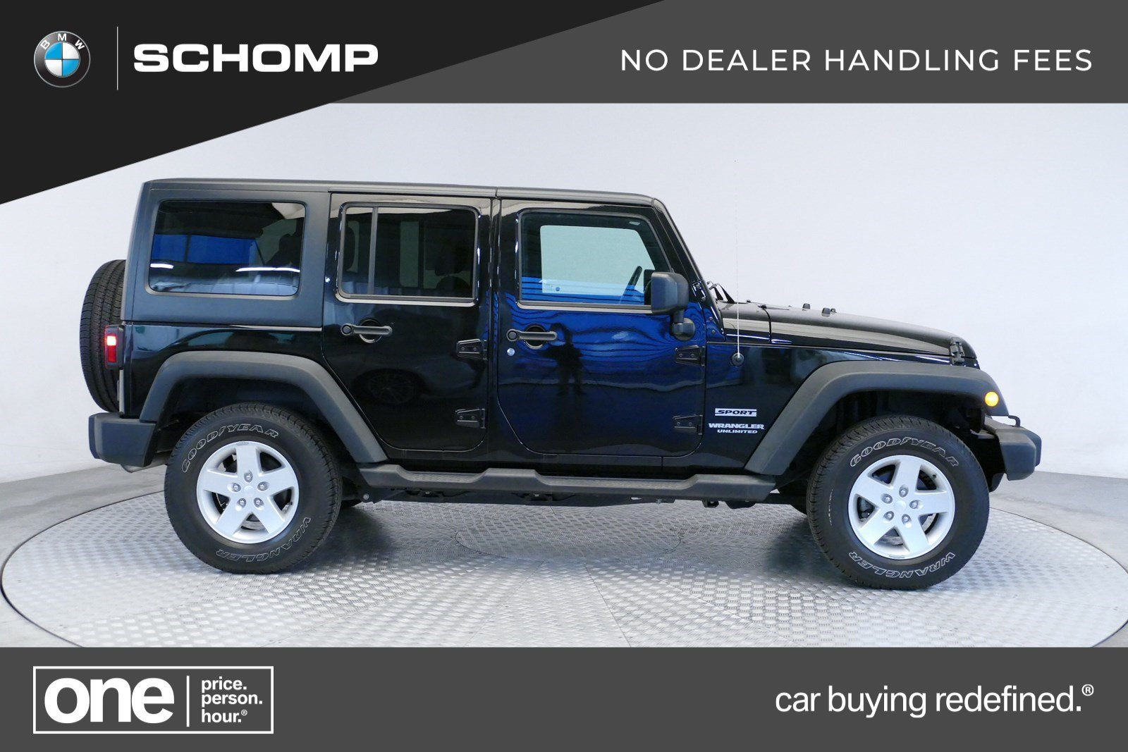 Jeep Wrangler Unlimited Sport >> Pre Owned 2016 Jeep Wrangler Unlimited Sport 4wd