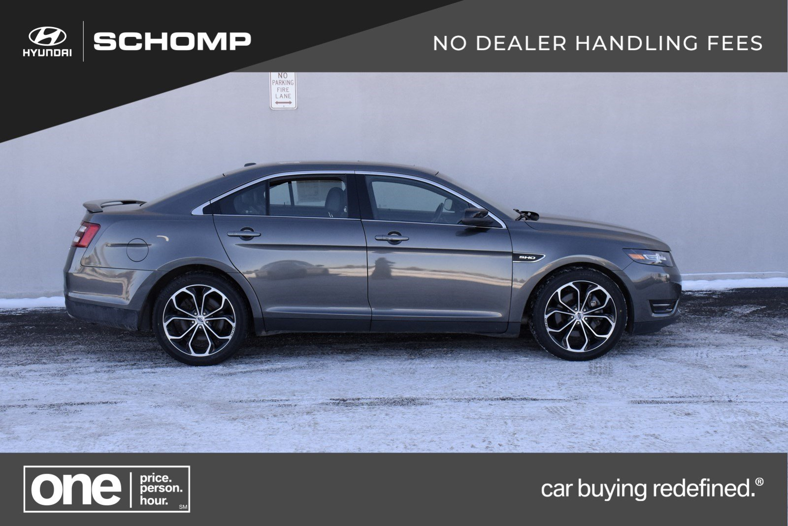 pre-owned 2015 ford taurus sho 4dr car in #7hp1199 | schomp