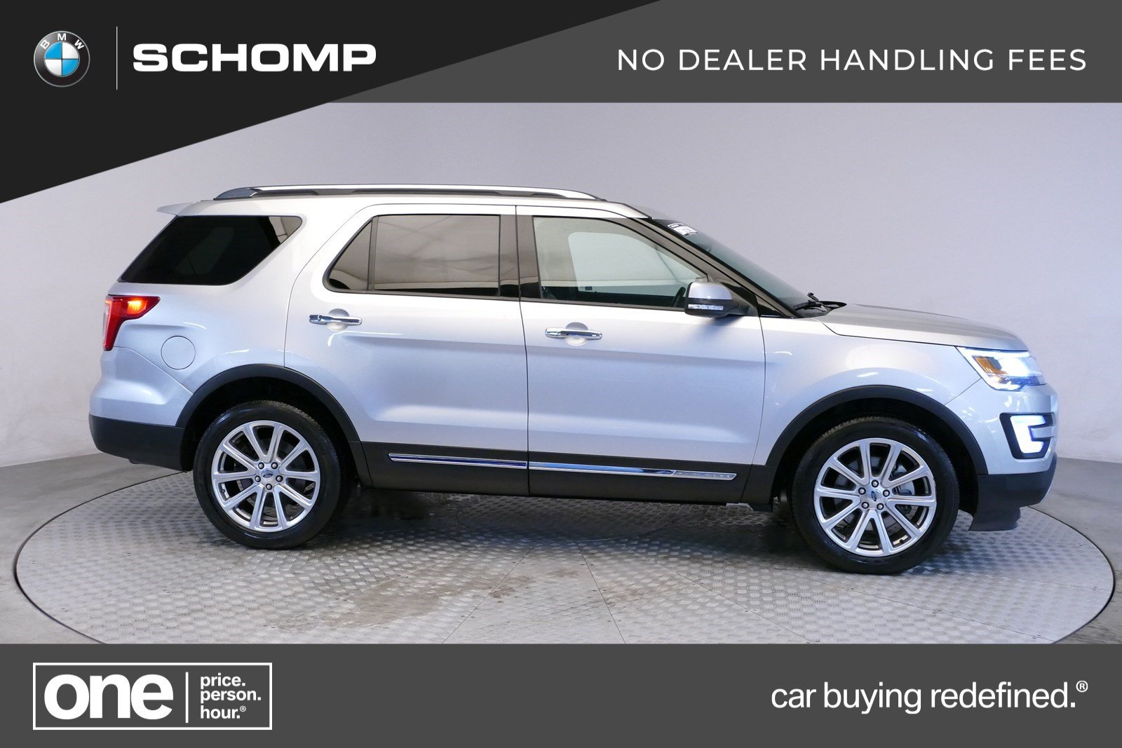 Pre-Owned 2017 Ford Explorer Limited