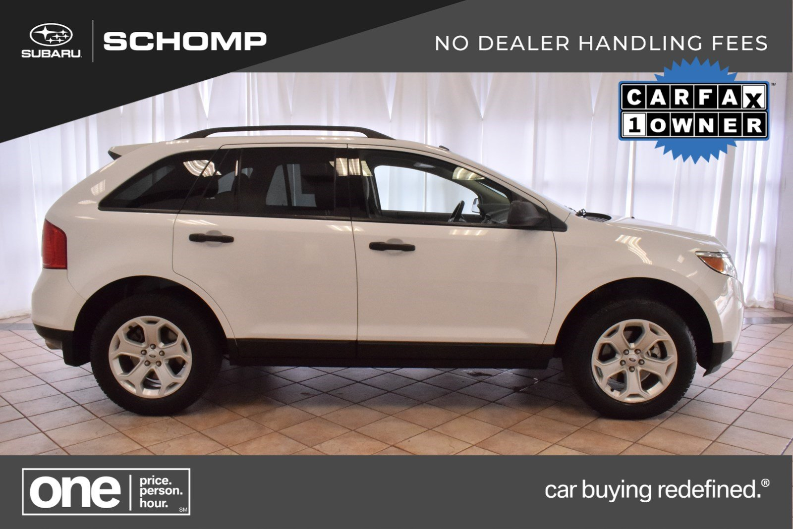 2014 Ford Edge Se >> Pre Owned 2014 Ford Edge Se Sport Utility In 6sp1284a Schomp