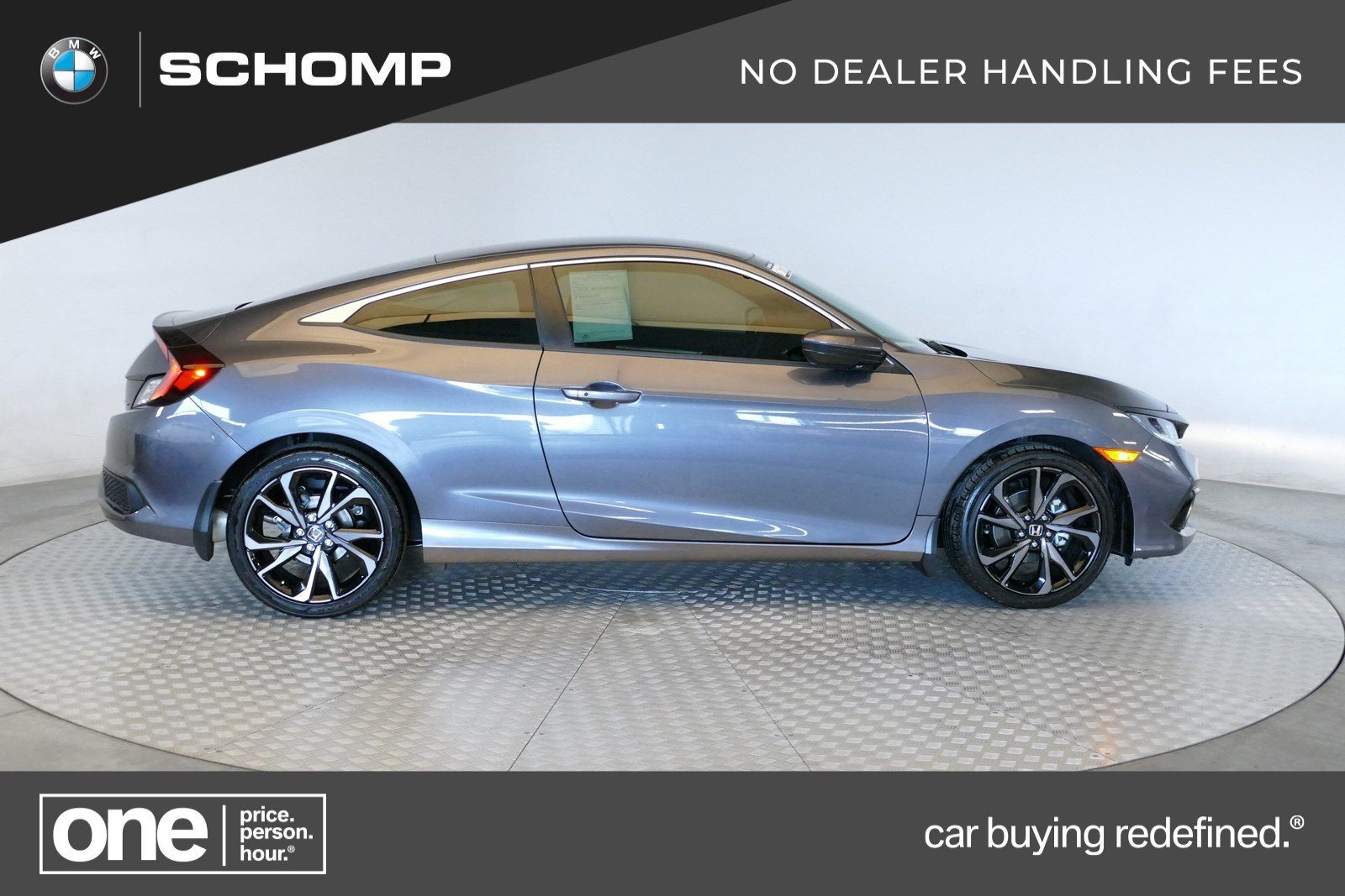 Pre-Owned 2019 Honda Civic Coupe Sport