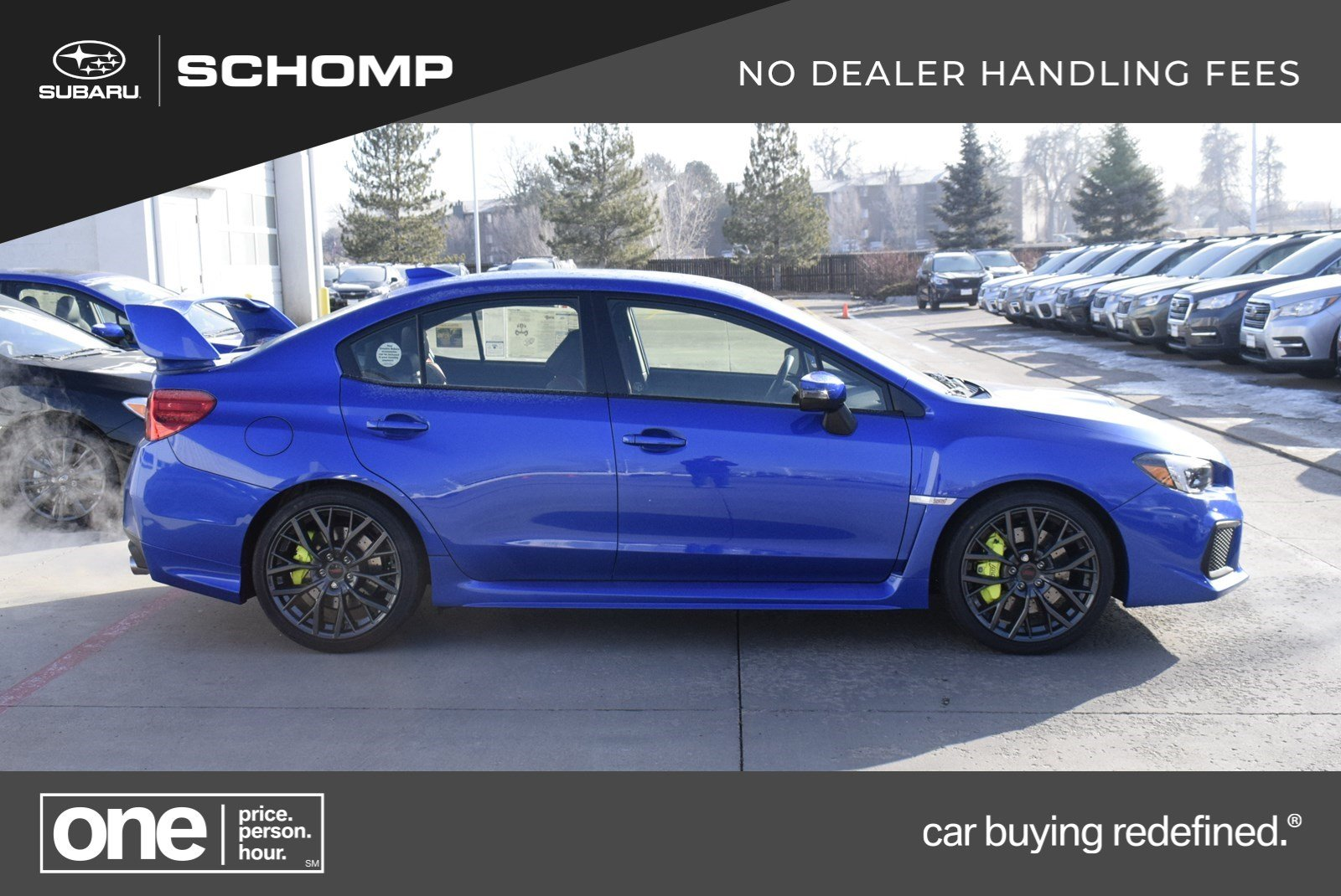 New 2019 Subaru Wrx Sti 4dr Car In 6s91357 Schomp Automotive Group