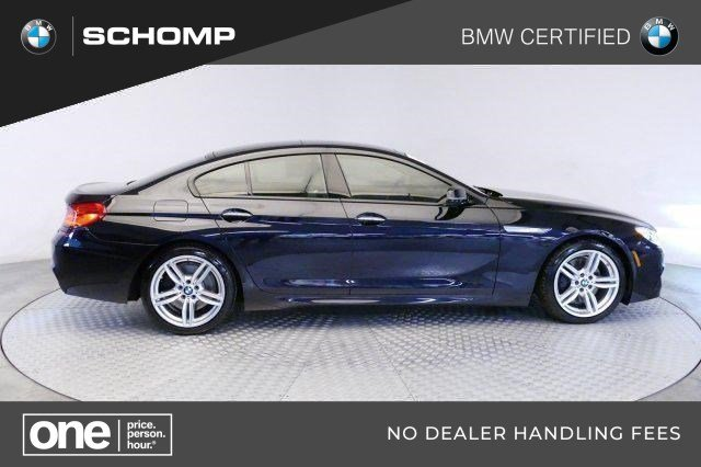 Certified Pre-Owned 2017 BMW 6 Series 650i xDrive