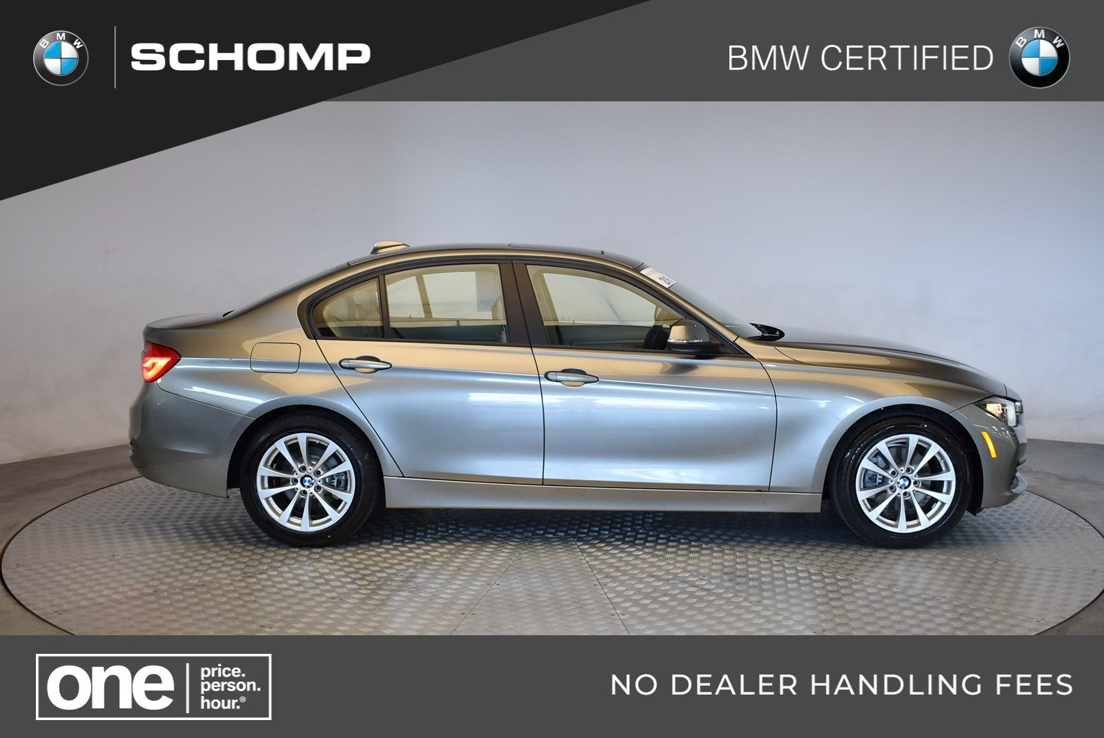 Certified Pre Owned Bmw >> Certified Pre Owned 2016 Bmw 3 Series 320i Xdrive 4dr Car In