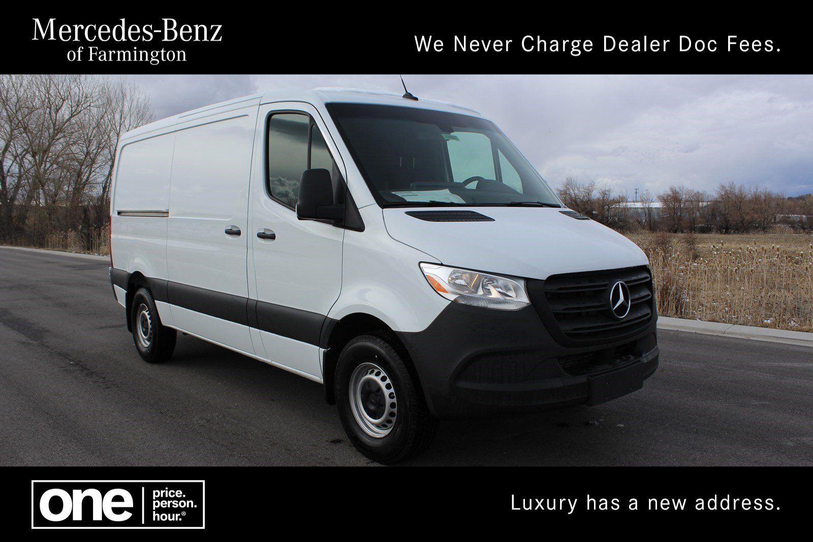 New 2019 Mercedes-Benz Sprinter Cargo Van Sprinter