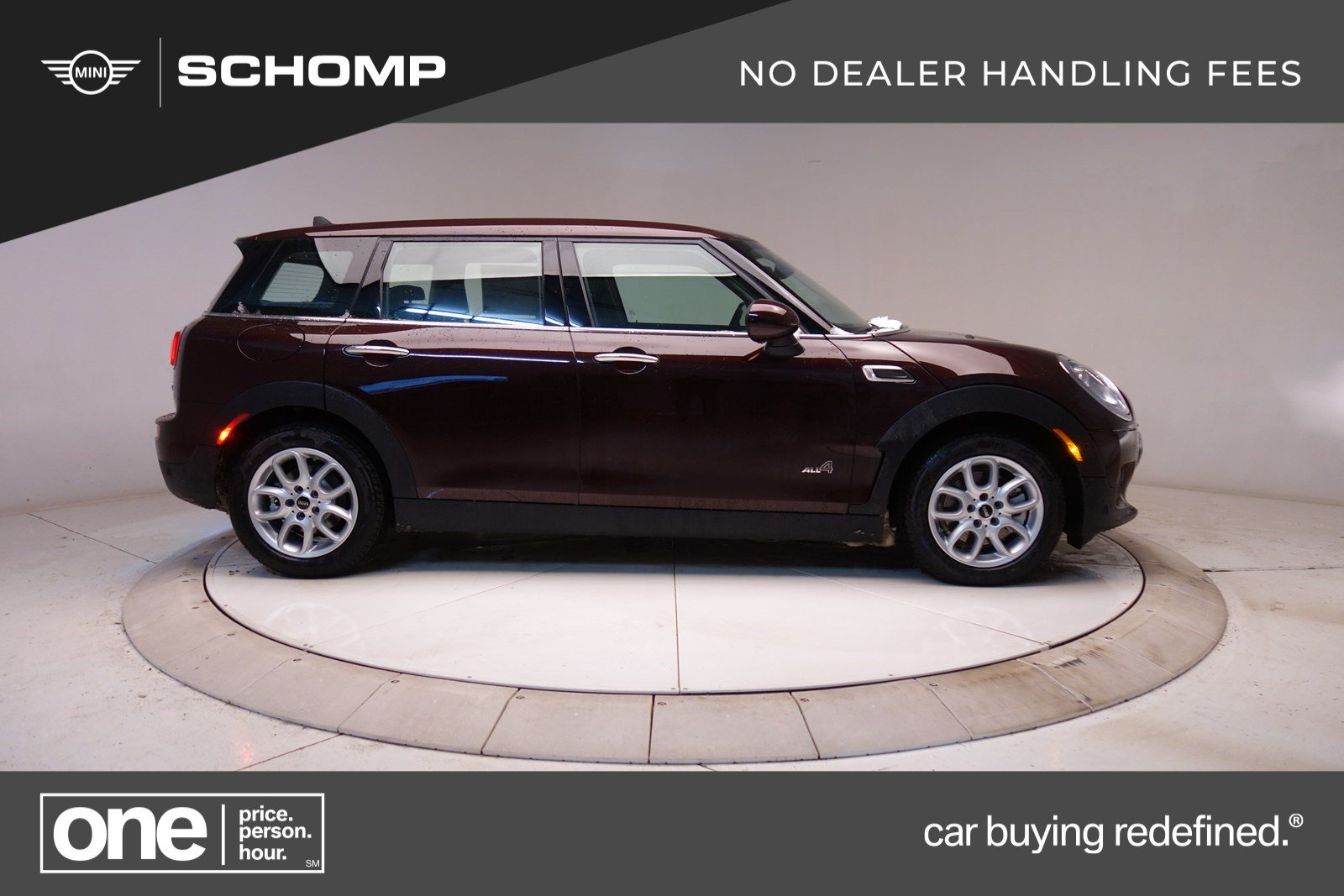 new 2018 mini clubman cooper clubman all4 station wagon in #3m80386